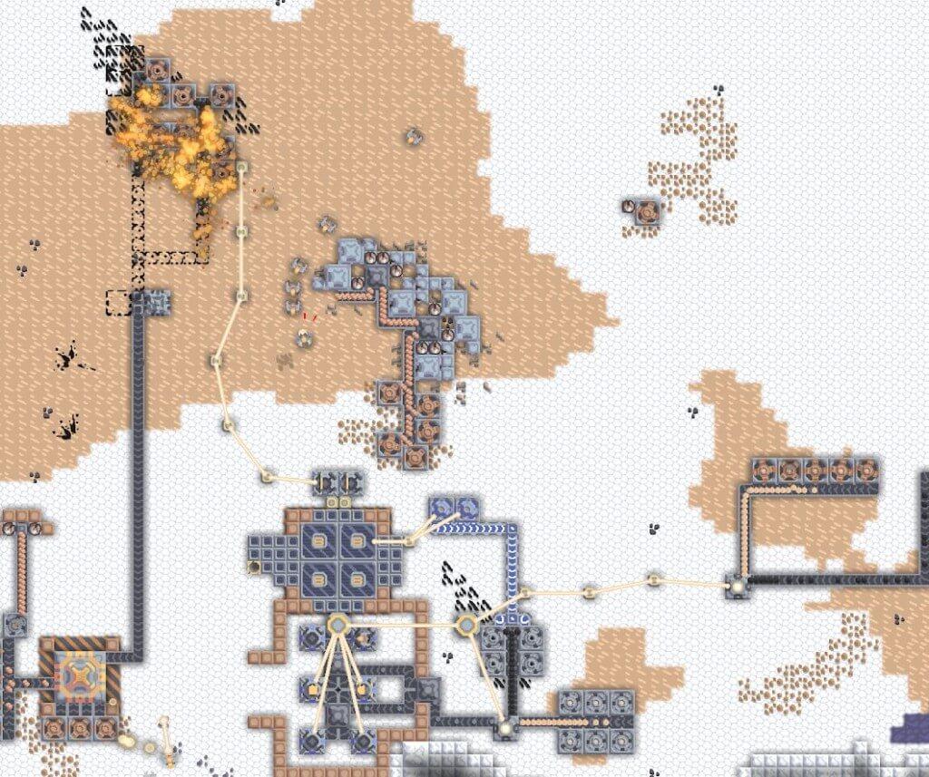 Механика игры Mindustry