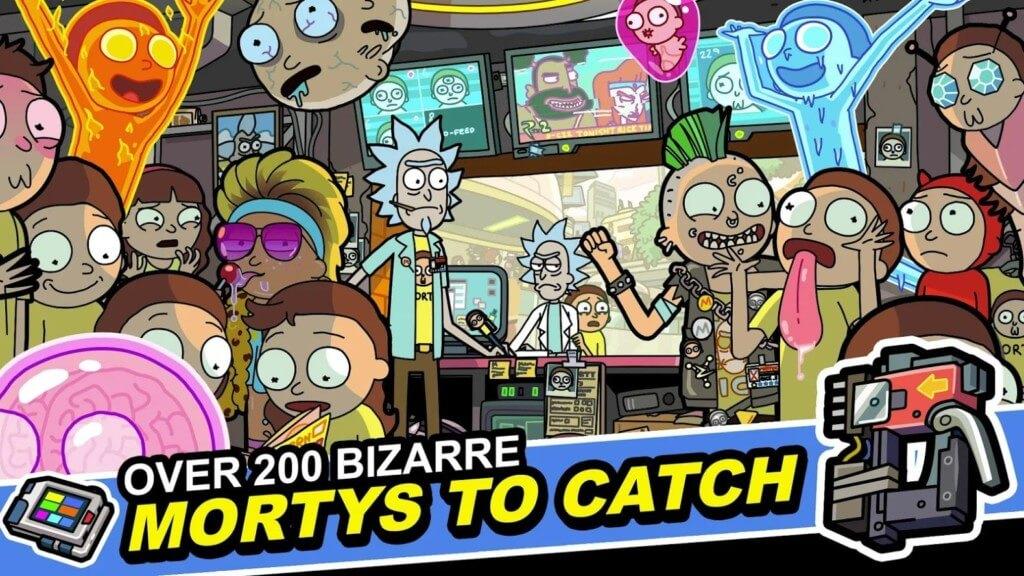 История игры Pocket Mortys