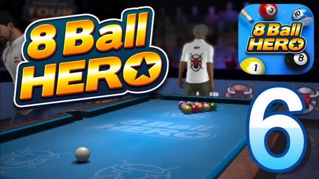 Правило игры 8 Ball Hero