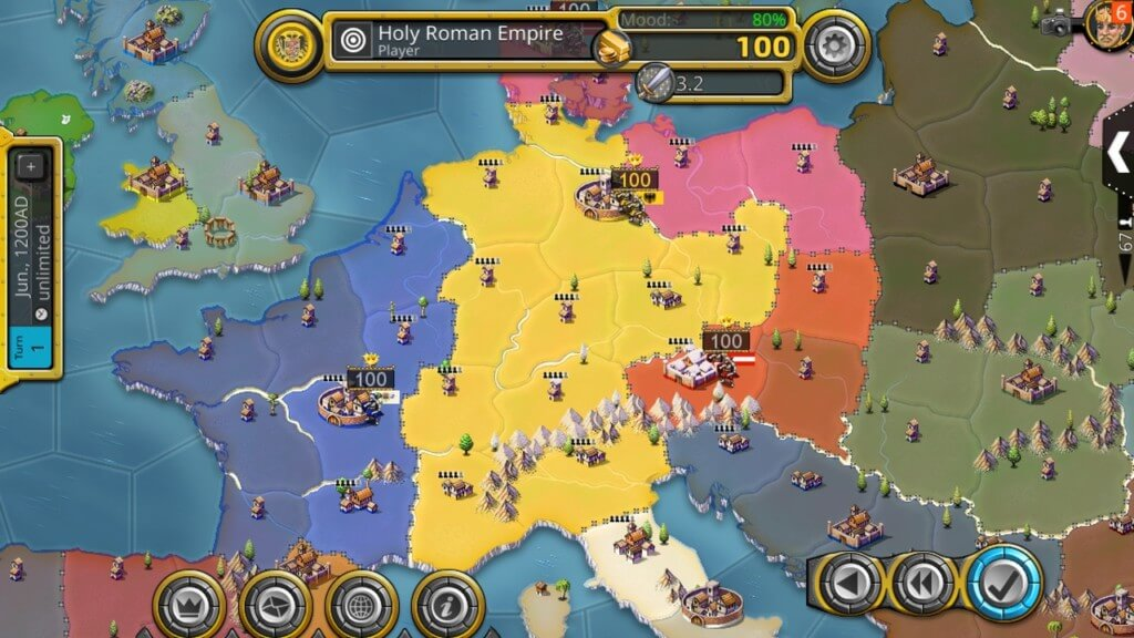 Механика игры Age of Conquest IV