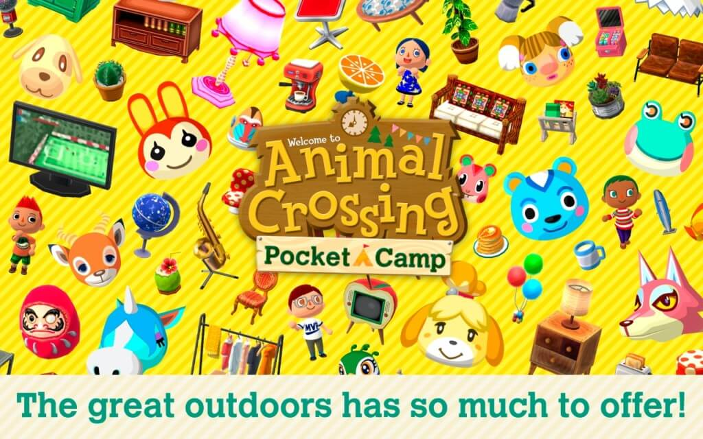 Механика игры Animal Crossing Pocket Camp на андроид