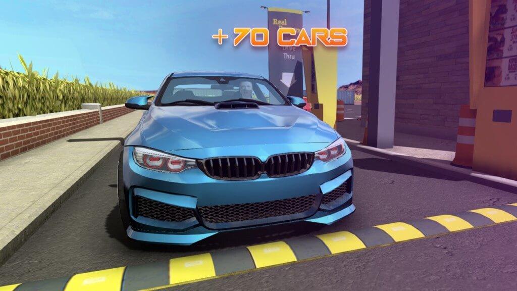 Игровой процесс в Car Parking Multiplayer на андроид