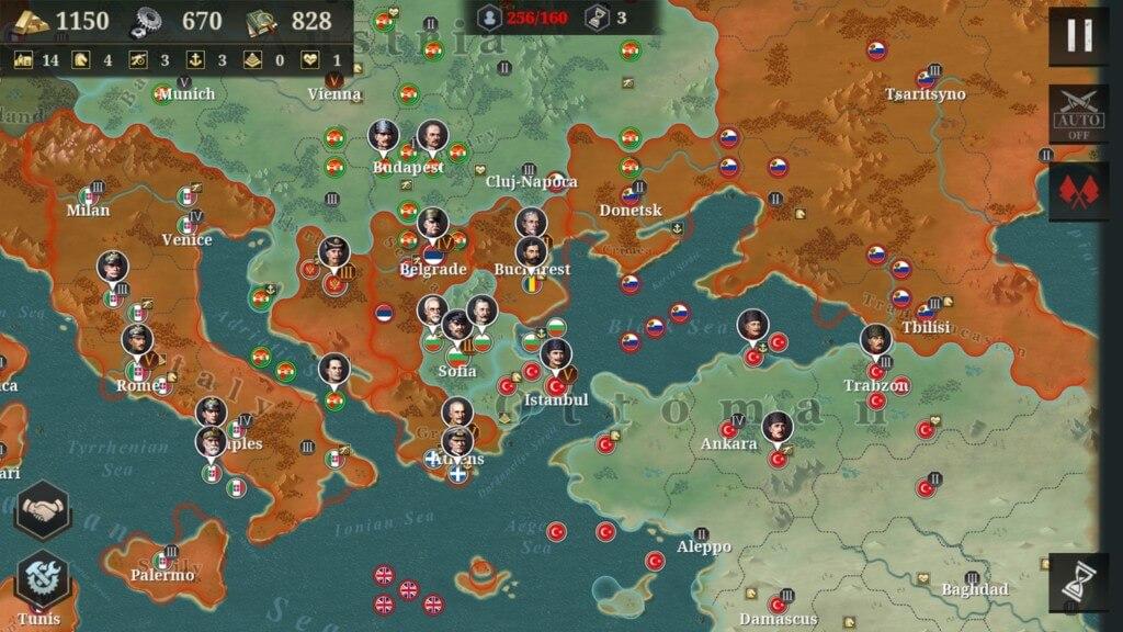 Общая информация об игре European War 6 1914