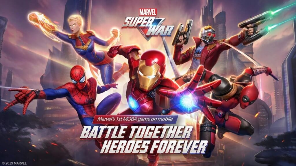 Механика игры MARVEL Super War на андроид