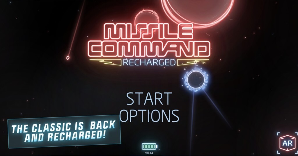 Механика игры Missile Command Recharged
