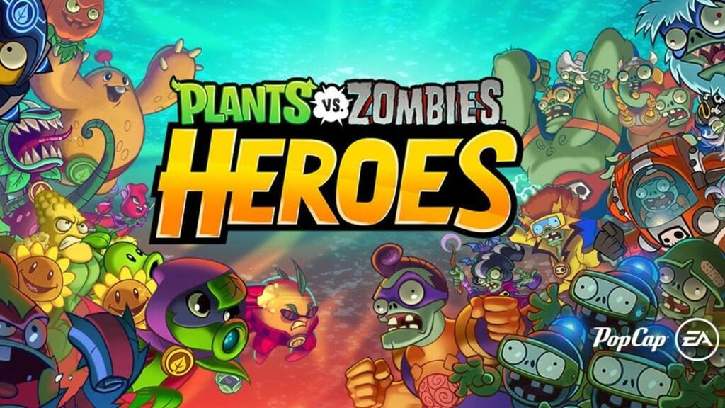 Механика игры Plants vs. Zombies Heroes
