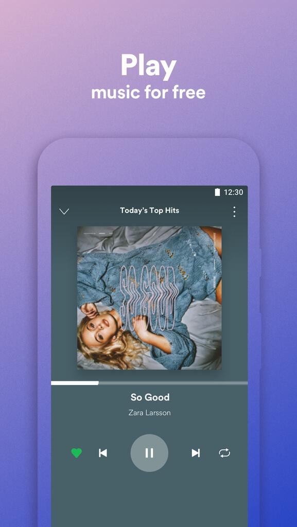 Подробнее о Spotify Lite