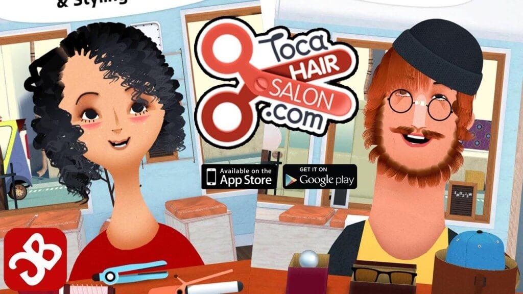 Скриншот Toca Hair Salon 2