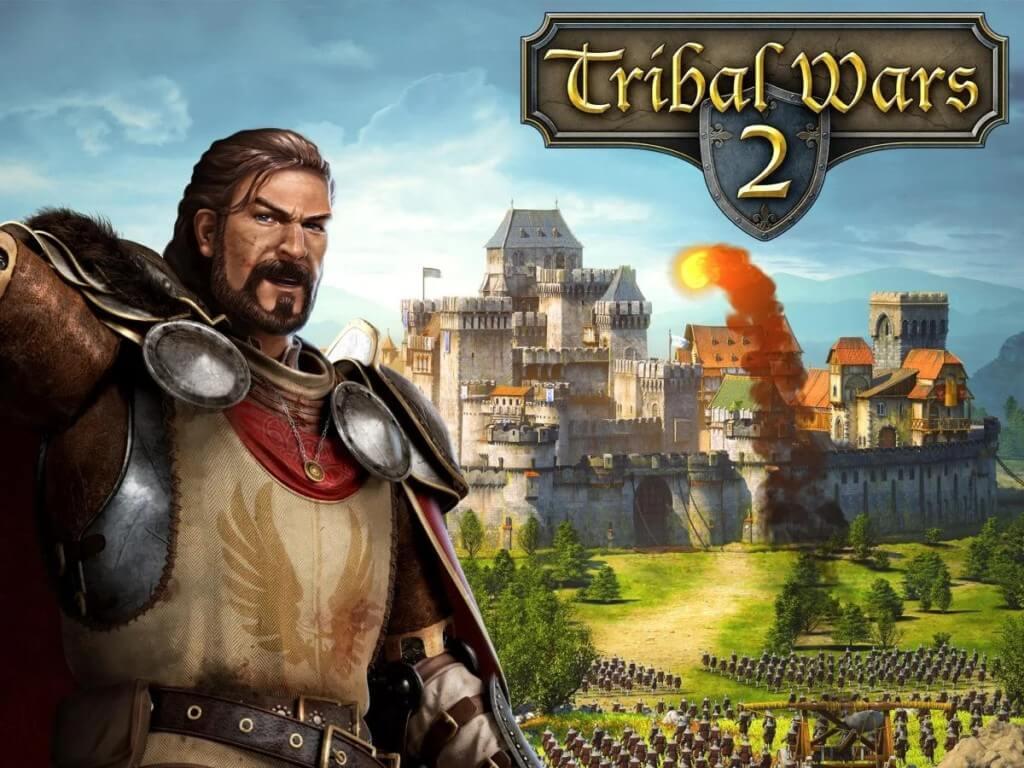 Игровой процесс в игре Tribal Wars 2