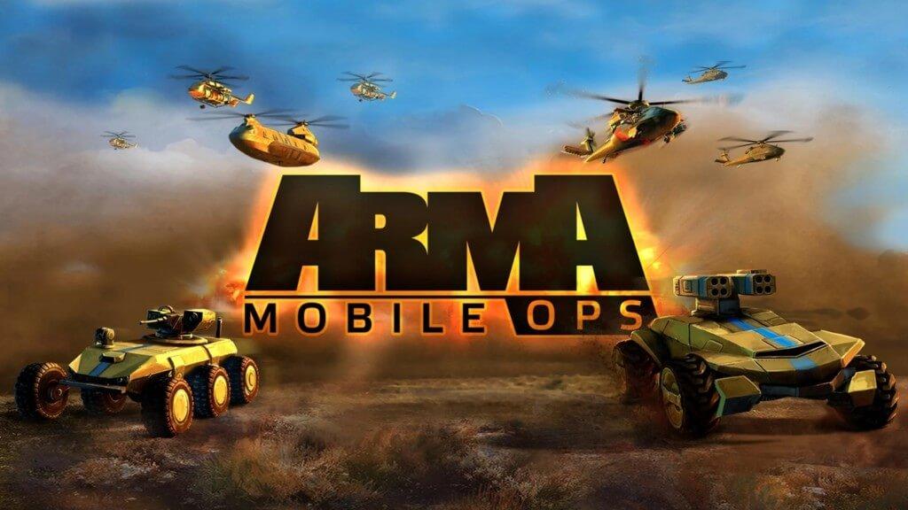 Механика иры Arma Mobile Ops