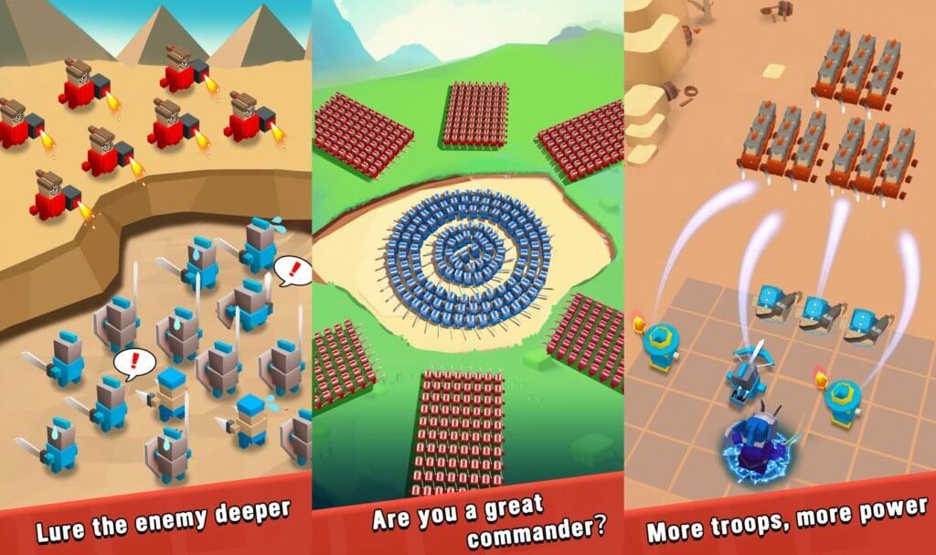 Подробнее об игре Art of War Legions на андроид