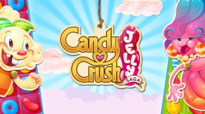 Игровой процесс в Candy Crush Jelly Saga