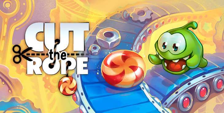 Механика игры Cut the Rope 2 на андроид