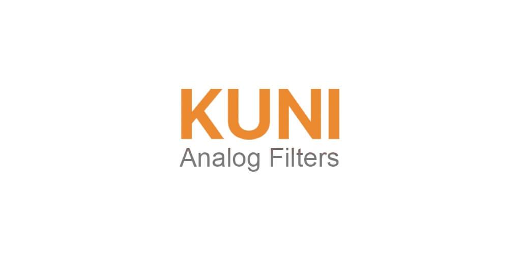Предустановленные инструменты в KUNI Cam на андроид