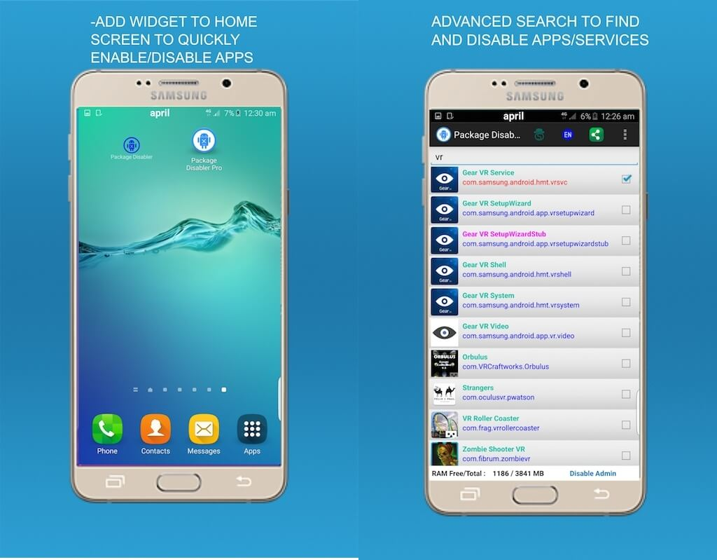 Что такое Package Disabler Pro (Samsung)?