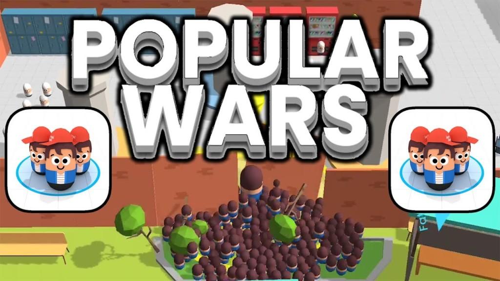 Popular Wars - простой геймплей
