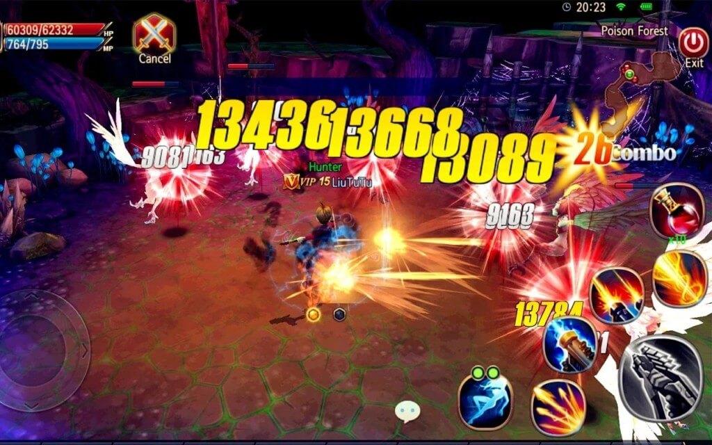 Механика игры Sword of Chaos