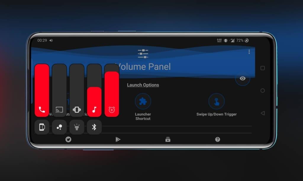 Ключевые особенности приложения Volume Control Panel Pro