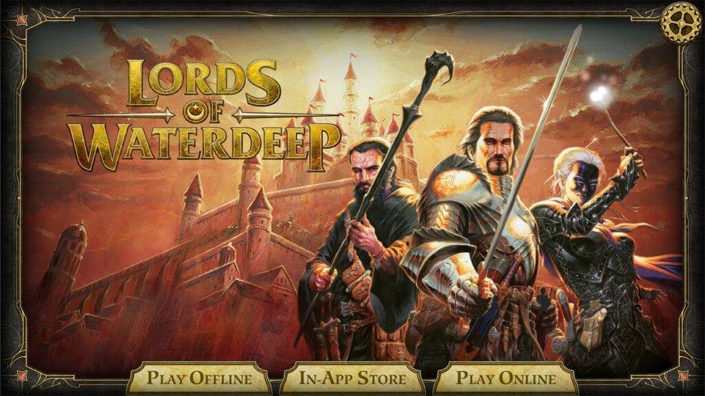 Подробнее об игре D&D Lords of Waterdeep