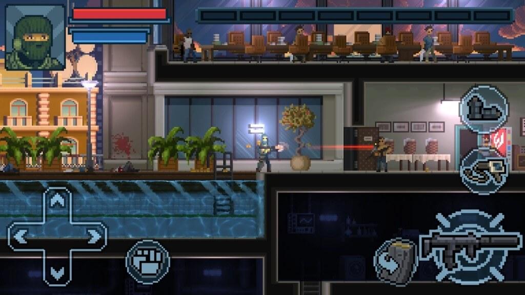 Игровой процесс в игре Door Kickers Action Squad