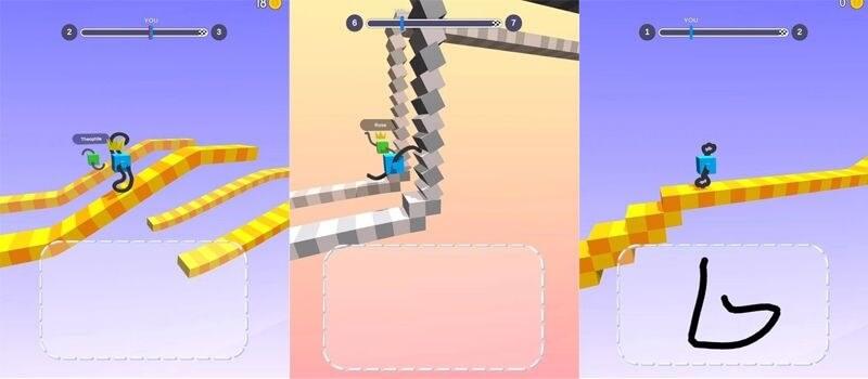 Draw Climber на андроид - уникальный геймплей