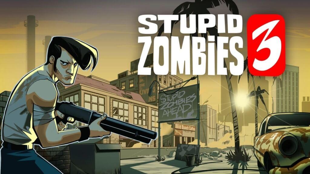 Stupid Zombies 3 - геймплей как Angry Birds