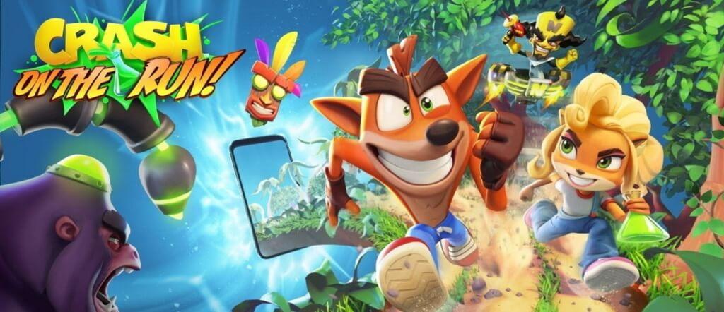 Механика игры Crash Bandicoot On the Run