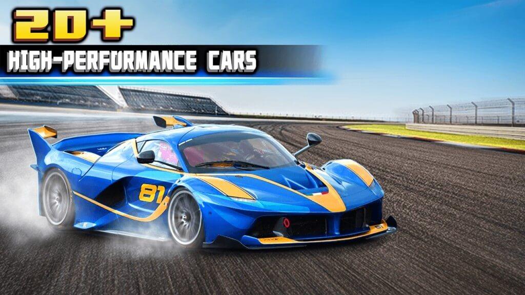 Крутые автомобили в Crazy for Speed 2