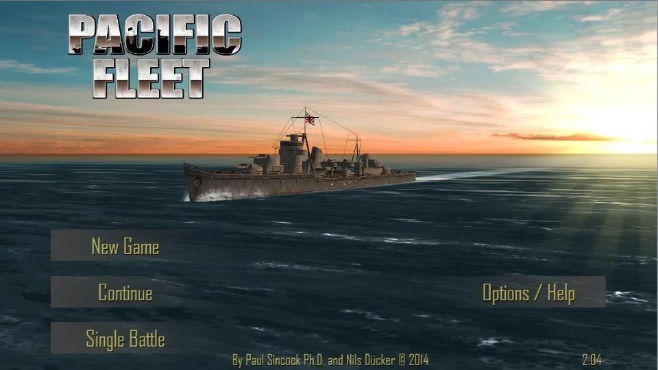 Сюжет игры Pacific Fleet