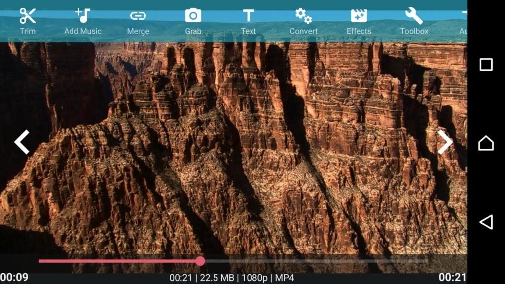 Некоторые потрясающие функции приложения AndroVid на андроид