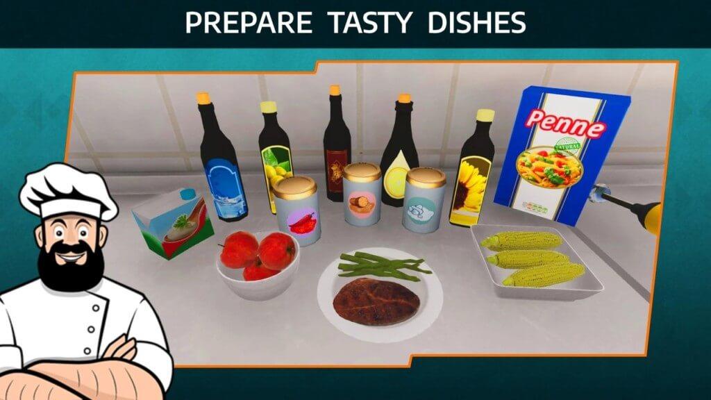 Геймплей игры Cooking Simulator Mobile