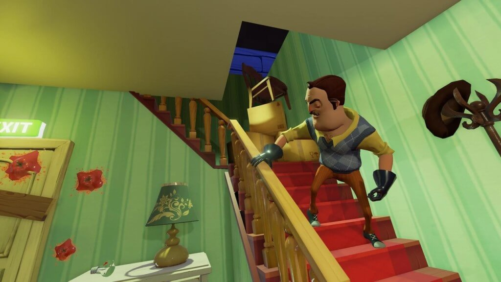Сюжет игры Hello Neighbor на андроид