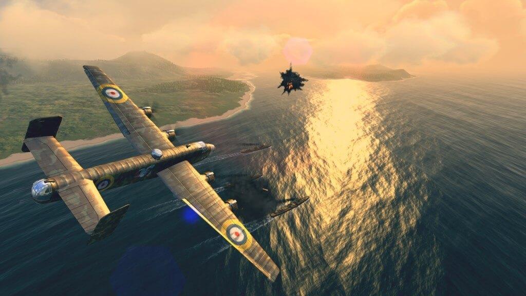 Механика игры Warplanes WW2 Dogfight