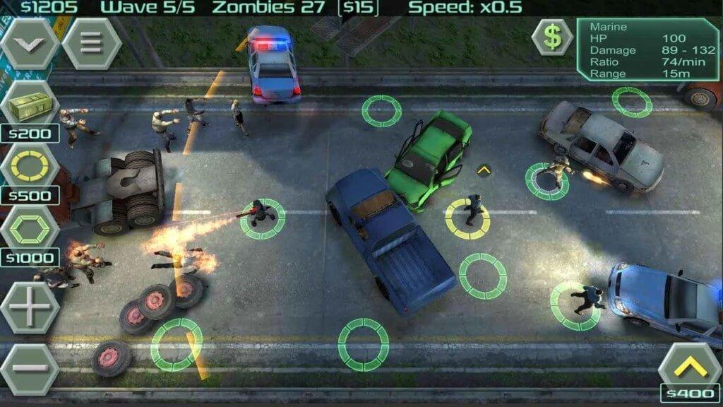 История Zombie Defense на андроид
