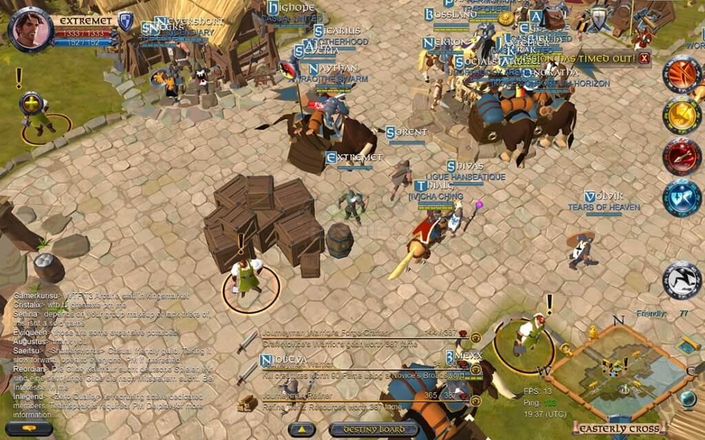 Подробнее об игре Albion Online на андроид