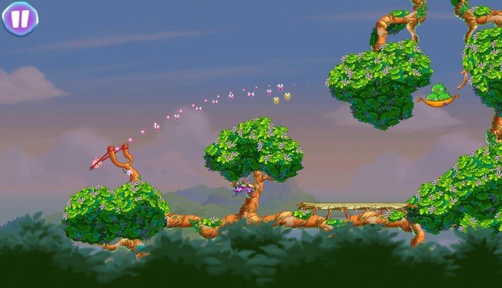 Сюжет в Angry Birds Stella