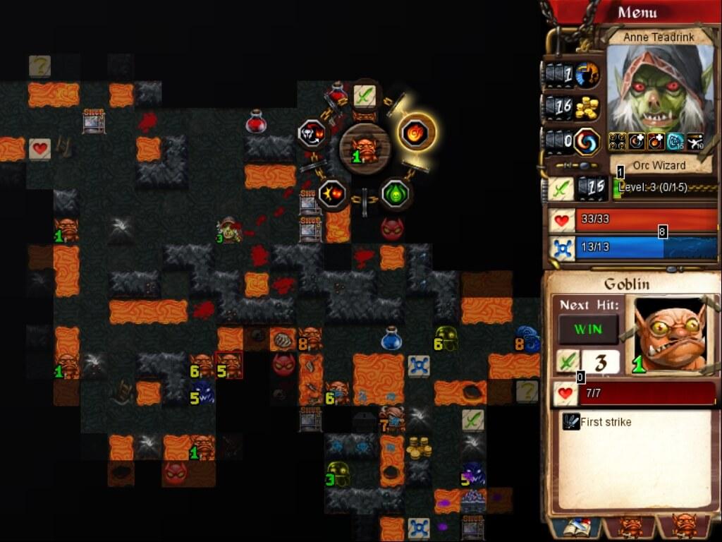 Подробнее об игре Desktop Dungeons