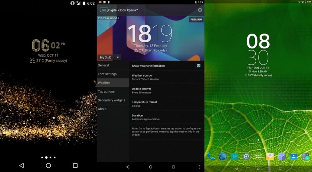 Плюсы и минусы Digital Clock Widget Xperia