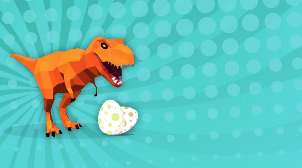 Геймплей игры Dinosaur Rampage