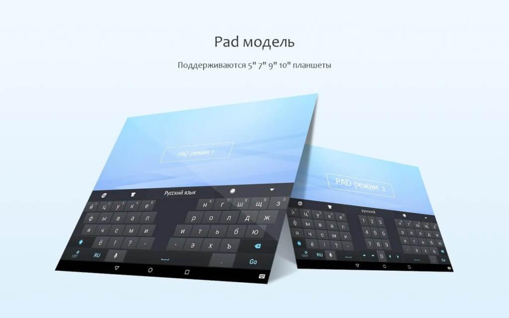Плюсы приложения GO Keyboard