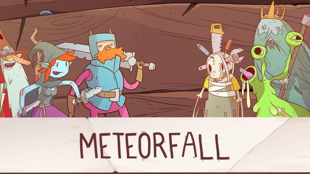 Сюжет в Meteorfall Journeys