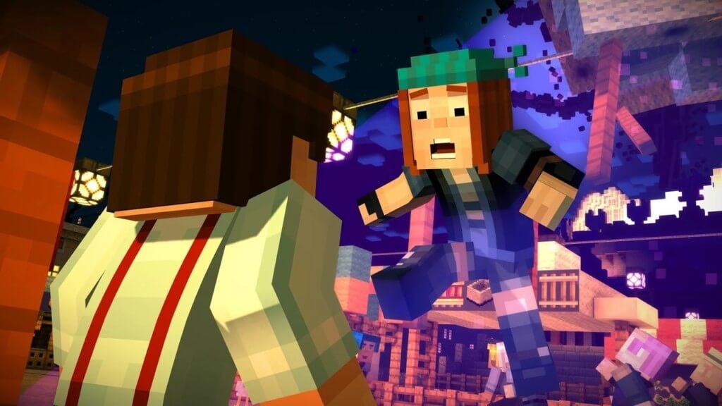 Сюжет Minecraft Story Mode на андроид