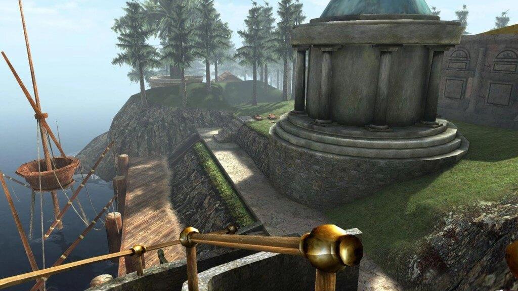 Технические особенности игры realMyst