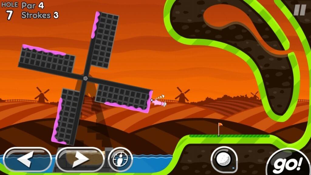 Механика игры Super Stickman Golf 2
