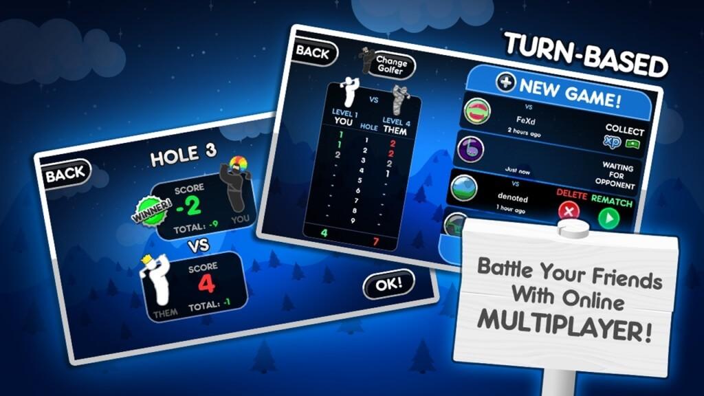 Режимы игры в Super Stickman Golf 2