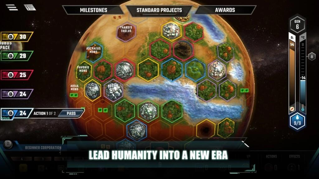 Механика игры Terraforming Mars