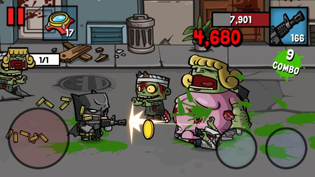 Геймплей игры Zombie Age 3