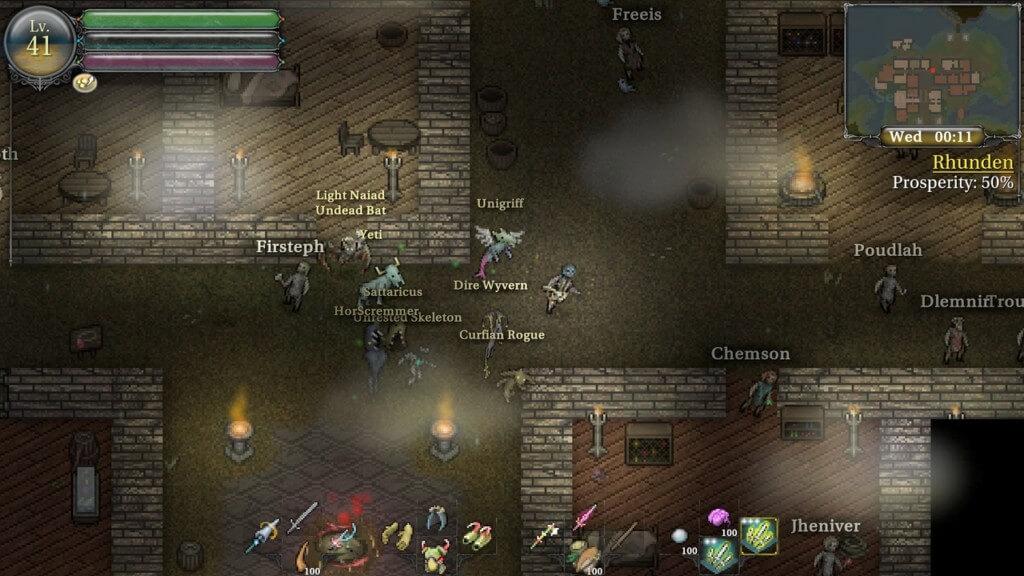 Сюжет игры 9th Dawn III RPG