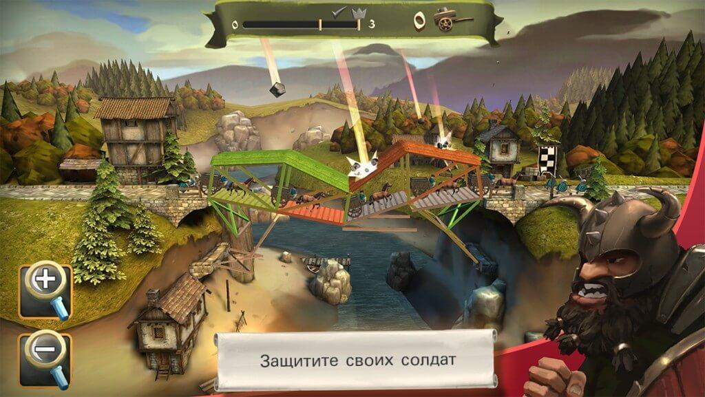 Механика игры Bridge Constructor Medieval