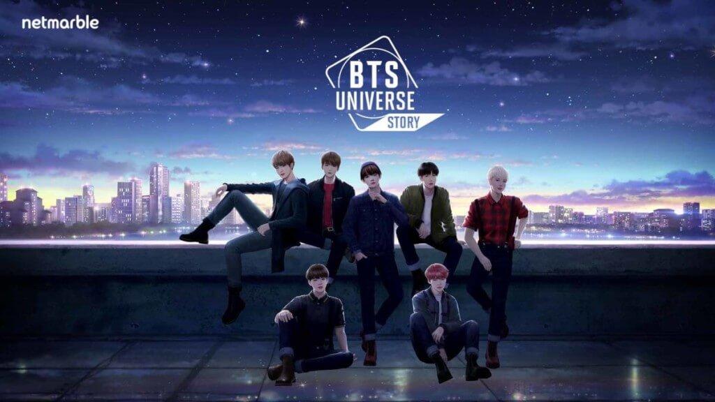 BTS Universe Story - интересные подробности